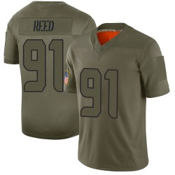 Nike Jarran Reed Seattle Seahawks Youth Limited Camo 2019 Salute to Service Jersey