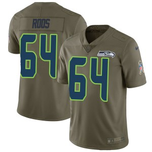 Nike Jordan Roos Seattle Seahawks Youth Limited Green 2017 Salute to Service Jersey