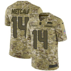 Nike DK Metcalf Seattle Seahawks Youth Limited Camo 2018 Salute to Service Jersey