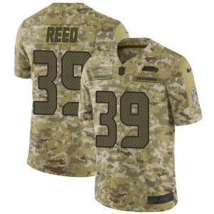 Nike Kalan Reed Seattle Seahawks Youth Limited Camo 2018 Salute to Service Jersey