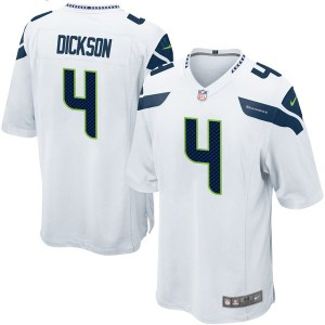 Nike Michael Dickson Seattle Seahawks Youth Game White Jersey