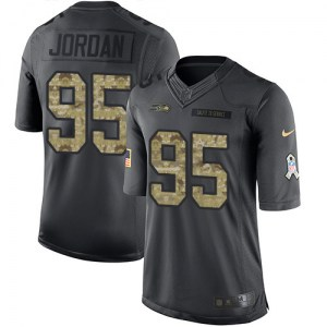 Nike Dion Jordan Seattle Seahawks Youth Limited Black 2016 Salute to Service Jersey
